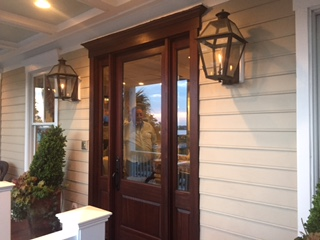 Custom Mahogany Door Install & Custom Mahogany Door Install | Palmetto Door and Key